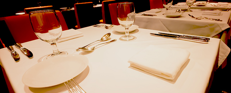 気を付けなければいけない食事のテーブルマナー