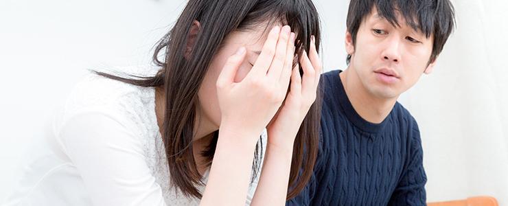 彼女がなぜ泣いているのか分からない男子